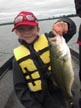 Kolton and a Bass!!