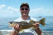 A Smiling Vince with a Walleye!