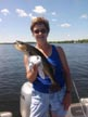 A Pic from WebDude - Mrs. Webdude's Walleye!