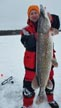 Brad Sent in a Nice Pike! with 40 inch, (20 pounds)