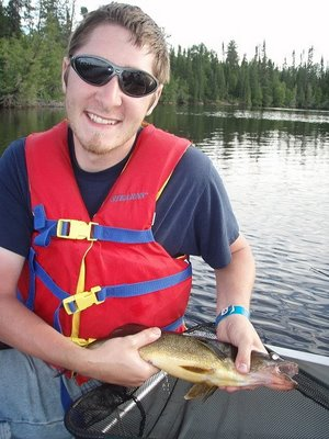 A Walleye for a Happy Camper